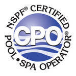 Logo for the NSPF Certified Pool and Spa Operator membership
