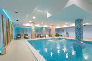 Image of luxury indoor swimming pool
